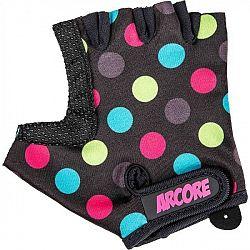 Arcore ZOAC fialová 6 - Detské cyklistické rukavice