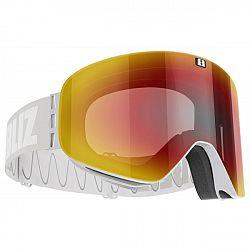 Bliz FLOW LIGHT GREY WHITE - Lyžiarske okuliare