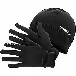 Craft RUNNING WINTER GIFT PACK - Sada rukavíc a čiapka.