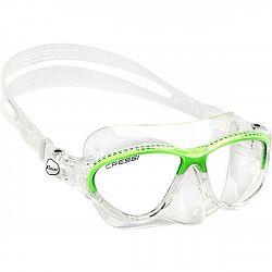Cressi MOON JR MASK zelená NS - Juniorská potápačská maska