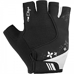 Etape AMBRA čierna S - Dámske cyklistické rukavice