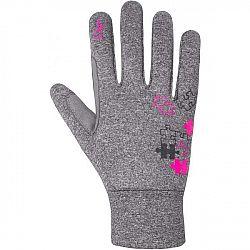 Etape PUZZLE WS sivá 7/8 - Detské rukavice