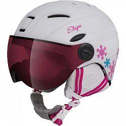 Etape RIDER PRO - Detská lyžiarska prilba so štítom