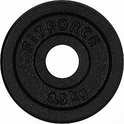 Fitforce NAKLADACÍ KOTÚČ 0,5KG ČIERNY - Nakladací kotúč