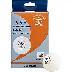 Giant Dragon WHT PI PO - Loptičky na stolný tenis