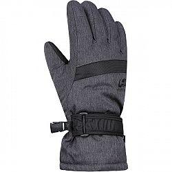 Hannah CLIO JR čierna 11-12 - Detské rukavice
