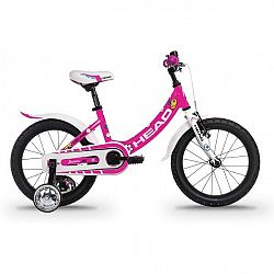 Head JUNIOR 16 ružová 24 - Detský bicykel