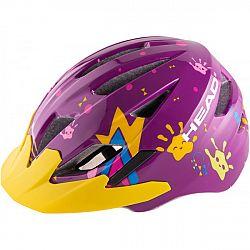 Head Y11A OUT MOULD fialová (47 - 52) - Detská cyklistická prilba