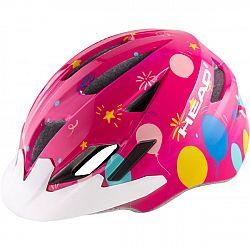 Head Y11A OUT MOULD ružová (52 - 56) - Detská cyklistická prilba