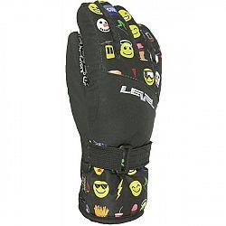 Level DARK JR čierna 4 - Detské lyžiarske rukavice