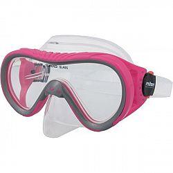 Miton ARAL ružová NS - Juniorská potápačská maska