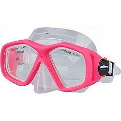 Miton BALI ružová NS - Juniorská potápačská maska