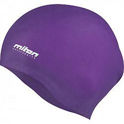 Miton CORAL fialová NS - Juniorská plavecká čiapka