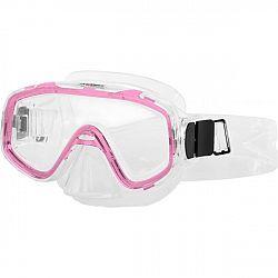 Miton NEPTUNE JR ružová NS - Juniorská potápačská maska
