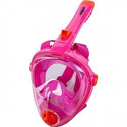 Miton UTILA 2 ružová S/M - Juniorská šnorchlovacia maska