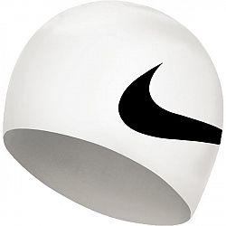 Nike BIG SWOOSH biela NS - Plavecká čiapka