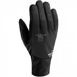 Salomon EQUIPE GLOVE U čierna M - Športové rukavice