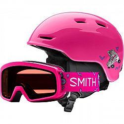 Smith ZOOM JR ružová (48 - 53) - Detská lyžiarska prilba