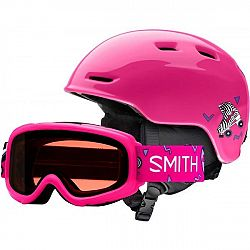 Smith ZOOM JR ružová (53 - 58) - Detská lyžiarska prilba