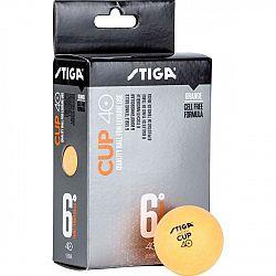 Stiga CUB ABS oranžová NS - Loptičky na stolný tenis