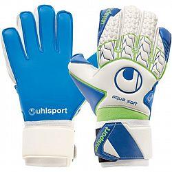 Uhlsport AGUASOFT - Pánske brankárske rukavice