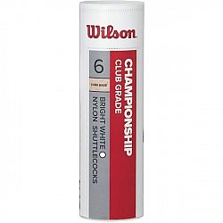 Wilson CHAMPIONSHIP 6PC - Badmintonová lopta