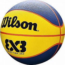 Wilson FIBA 3X3 MINI RUBBER BSKT - Mini basketbalová lopta
