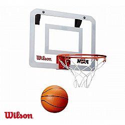 Wilson NCAA SHOWCASE MINI HOOP  NS - Mini basketbalový set