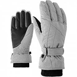 Ziener KARMA GTX + GORE PLUS WARM W biela 7,5 - Dámske rukavice