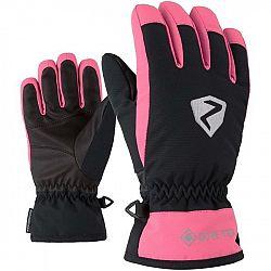 Ziener LARINO GTX JR ružová 5 - Detské rukavice