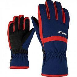 Ziener LEJANO AS JR tmavo modrá 5 - Detské rukavice