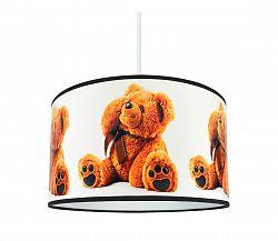 Lampdar Luster na lanku BEARS 1xE27/60W/230V