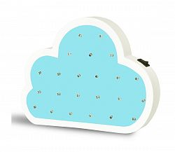 Polux LED Detská lampa LED/2xAA mrak