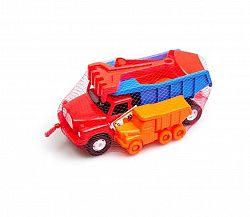 Tatra 148 červeno-modrá sada na pieskovisko 5 ks