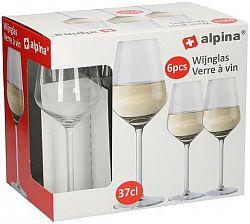 Alpina Pohár na biele víno ALPINA 370ml 6ks