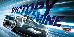 """Disney Osuška """"Autá Disney - Jackson Storm"""", 140 x 70 cm"""