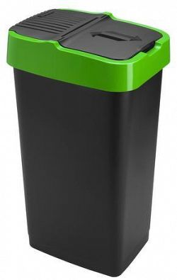 heidrun Plastový kôš na odpadky HEIDRUN 60l