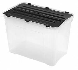 heidrun Plastový úložný box s vekom HEIDRUN 60l