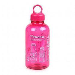 """LOCKNLOCK Fľaša na vodu """"Bisfree loop"""", 530 ml, ružová"""