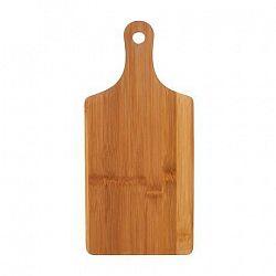 Provence Drevená krájacia doska s rukoväťou TORO bambus 35cm