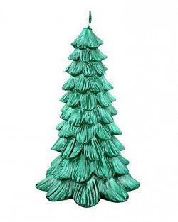 Provence Sviečka vianočná stromček, zelená