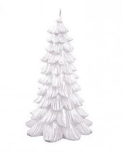 Provence Sviečka vianočný stromček, biela