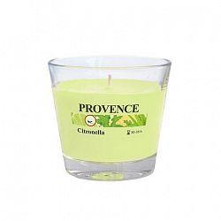 Provence Vonná sviečka v skle PROVENCE 140g, citronela