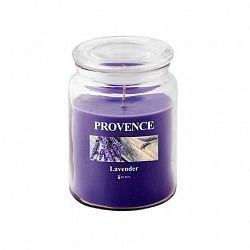 Provence Vonná sviečka v skle PROVENCE 510g, levanduľa