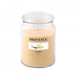 Provence Vonná sviečka v skle PROVENCE 510g, vanilka