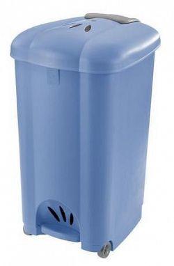 Tontarelli Kôš odpadkový Tontarelli Carolina, 50 l, svetlo modrý