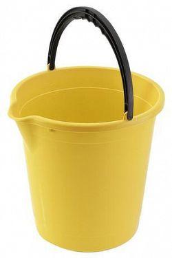 Tontarelli Plastové vedro s výlevkou TONTARELLI 10l žlté