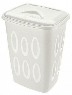 Tontarelli Plastový kôš na špinavú bielizeň TONTARELLI 45l biely