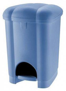 Tontarelli Plastový nášlapný kôš na odpadky TONTARELLI Carolina 16l