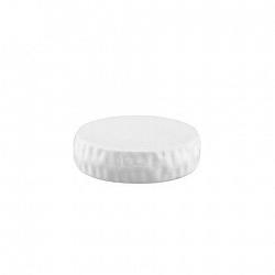 TORO Podložka na mydlo, dolomit, biela